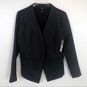 NWT marled grey and black pointe stretch blazer